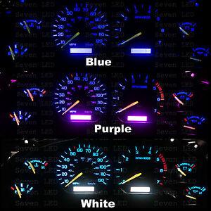 Ford Mustang 94 95 96 97 98  1994-1998 Instrument Cluster Gauge Led KIT