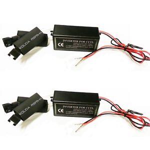 Inverter Ballast for CCFL Angel Eyes Halo Rings Kit 4-outputs 12V Male 900V