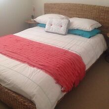 Queen size cane bed from far pavilions. Bed only. Mango Hill Pine Rivers Area Preview