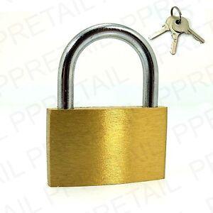★KEYED ALIKE PADLOCK★SMALL/MEDIUM/LARGE★Solid Brass Lock Security★SAME KEYS★