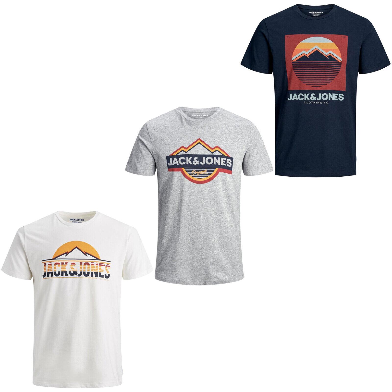 Jack /& Jones Jorpex tee SS Crew Neck Camiseta para Hombre