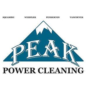 Peak power cleaning