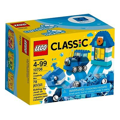 LEGO® Classic Blue Creativity Box Building Set 10706 NEW IN STOCK