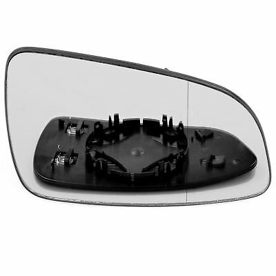 Right Driver side wing door  mirror glass for Vauxhall Astra H 2004 2008 heat