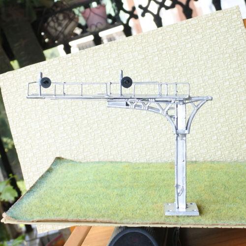 1 x HO OO block searchlight cantilever signal bridge tricolor 2 tracks metal #13