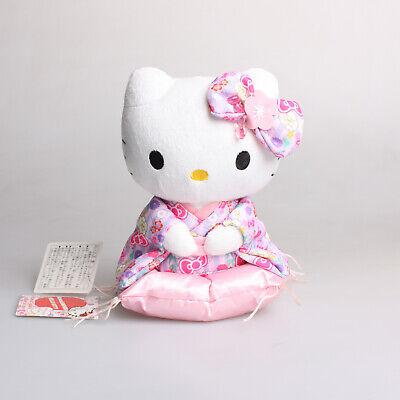 "Hello Kitty Licensed Hanbok Plush Rag Doll Toy 25cm 9.8/"""