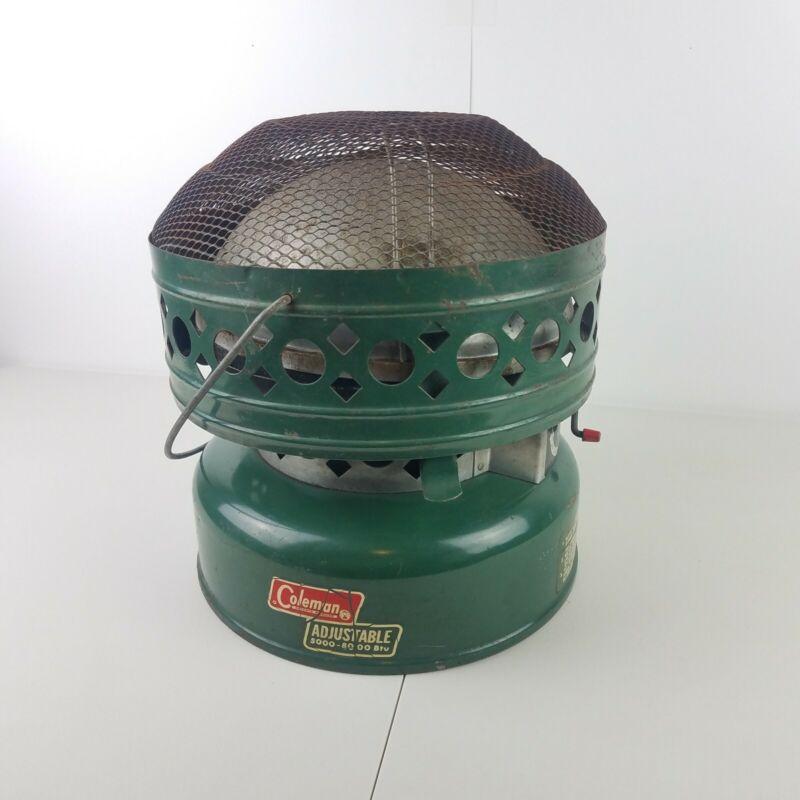 Vintage 1969 Adjustable Coleman Heater 5000-8000 BTU Catalytic Model 515 Tested