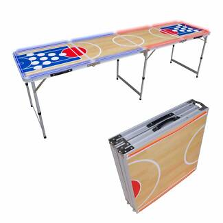 UNIQUE LED BEER PONG TABLES BASKETBALL DESIGN Aust wide delivery Allenby Gardens Charles Sturt Area Preview