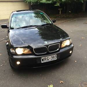 2001 BMW E46  325I  Sedan Stunning Black Duco $7950 College Park Norwood Area Preview