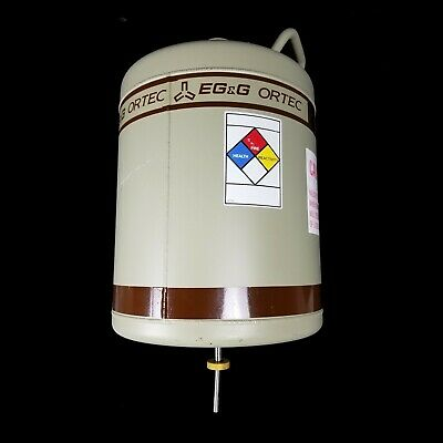 Egg Ortec Ln2 30 Liter Liquid Nitrogen Dewar Tank 3