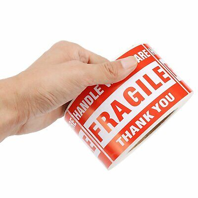 500roll 3x5 Fragile Stickers Handle With Care Warning Mailing Shipping Label