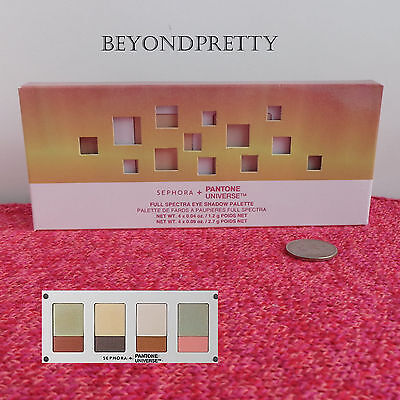 Sephora + Pantone Universe Full Spectra 8 Color Eye Shadow Palette Day Break (Assorted Pantone Colors)
