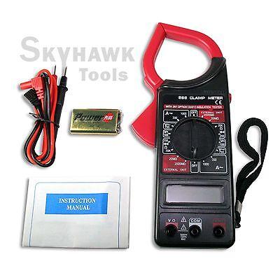 Portable Acdc Current 1000amp Volt Digital Clamp Test Meter Reader 1-34 Lcd