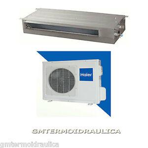 Climatizzatore condizionatore haier canalizzabile for Climatizzatore canalizzato