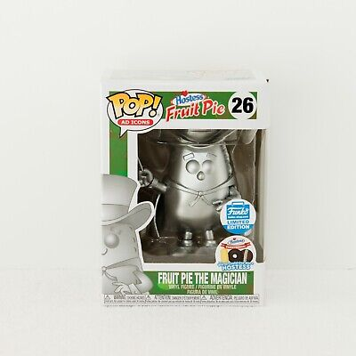 FUNKO POP AD ICONS Hostess Fruit Pie the Magician Silver Platinum #26 Limited Ed