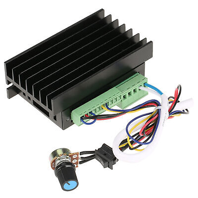 Ws55-220 Dc 48v 500w Cnc Brushless Spindle Bldc Motor Driver Controller 12a