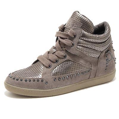 Kids Ash (Ash Zest Ter Sneaker Stone Piombo Flats Kids rrp£125 UK 12.5 EU 31 CH07 37)