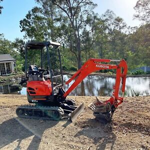 Mini Excavator Hire $160 p/d no gst added. Delivery & auger available