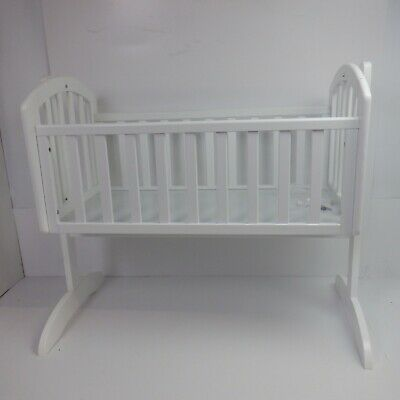 Obaby Sophie Swinging Crib (White) *USED EXCELLENT*