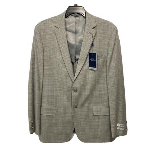 $495 Hart Schaffner Marx 10 Pocket Sport Coat 44L 44 Blazer Jacket Grey NY Fit Clothing, Shoes & Accessories