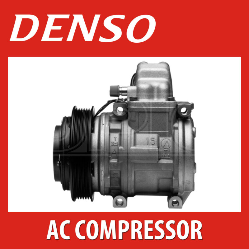 DENSO A/C Compressor - DCP51005 - Air Conditioning Part - Genuine DENSO OE Part