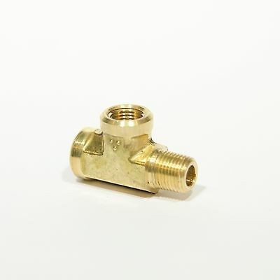 Forged Street Tee Fitting 18 Npt Male Female Fuel Air Oil Brass Fasparts