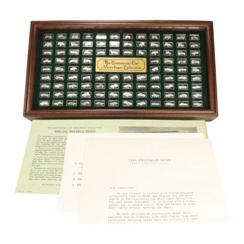 "The Franklin Mint 1975 Silver Mini Ingot ""CENTENNIAL CAR COLLECTION"""