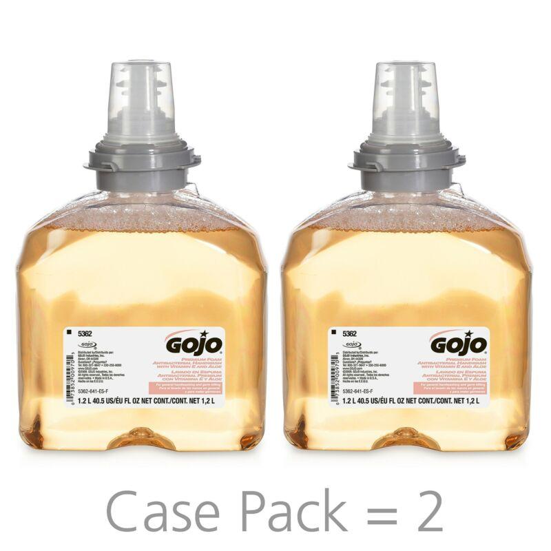 GOJO Premium Foam Antibacterial Handwash Refill Fresh Fruit Scent 916720