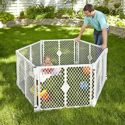Baby Gate Play Yard Toddler Playpen For Outdoor Indoor Fence Portable 6 - Baby Yard