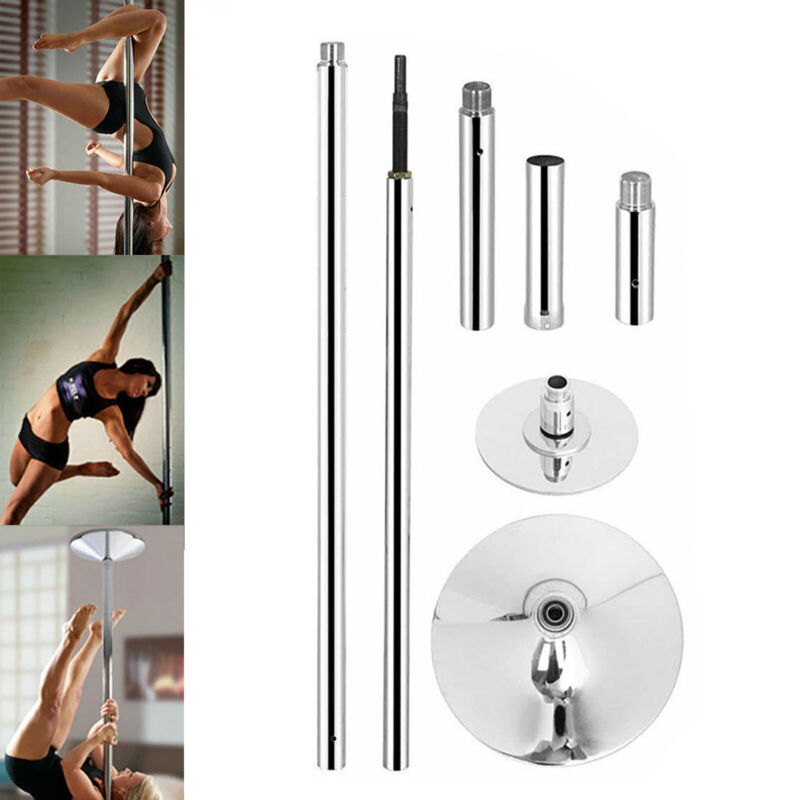 45mm 7.3 - 9 FT Stainless Steel Dance Pole Spinning Static Dancing Fitness