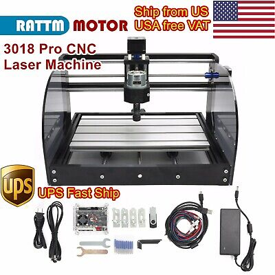 Usacnc 3018pro Max Machine Router Grbl Control Woodpcb Laser Engraving Milling