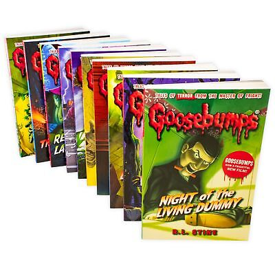 Goosebumps Classic Series 10 Books Children Collection Paperback By R L Stine