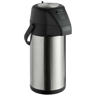 2.2 Liter 74 Oz. Hot Beverage Coffee Or Tea Stainless Steel Lined Airpot Pot