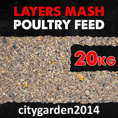 20kg Layer Mash for Balanced Nutrition for Healthy Laying Poultry 16% Protein