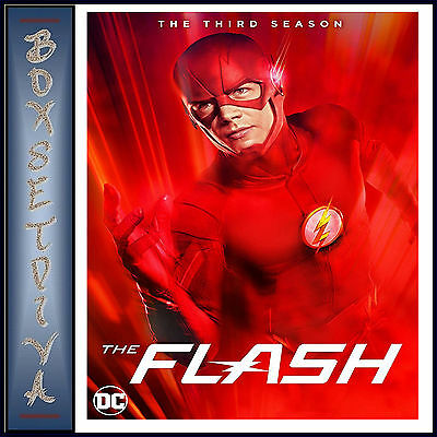 The Flash   Complete Season 3   Third Season Dc The Flash   Brand New Dvd