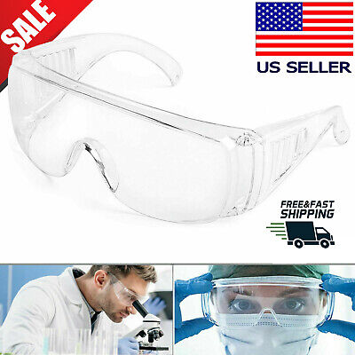 Us Safety Goggles Over Glasses Lab Work Eye Protective Eyewear Anti Fog Glasses