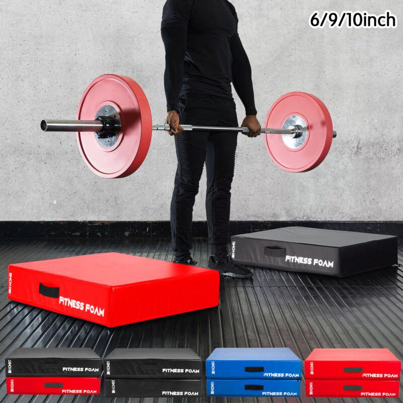 """Barbell Drop Pads Weight Lifting Silencer Drop Pads Pairs Crash Cushion 10""""9""""6"""""""