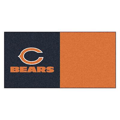 Fanmats 8561 NFL - Chicago Bears Team Carpet Tiles 18