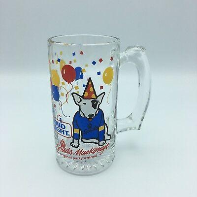 Bud Light Balloons (Bud Light Spuds Mackenzie Beer Mug 1987 Anheuser-Busch Party Animal)