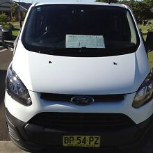2013 Ford Transit Custom Van/Minivan 6 Seat Shell Cove Shellharbour Area Preview