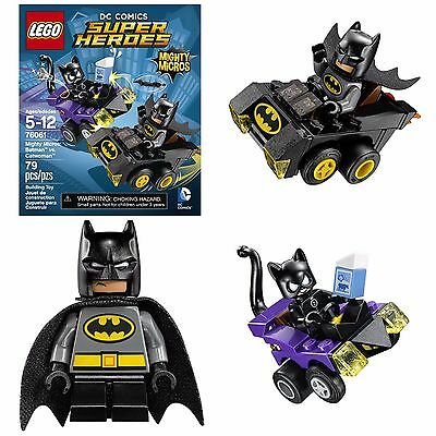 Lego Batman Catwoman Building Toys For Kids Construction Games Big Legos Craft - Catwoman For Kids