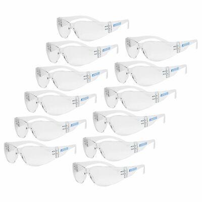 12 Jorestech Clearsmoke Uv Lens Lot Safety Glasses Bulk New