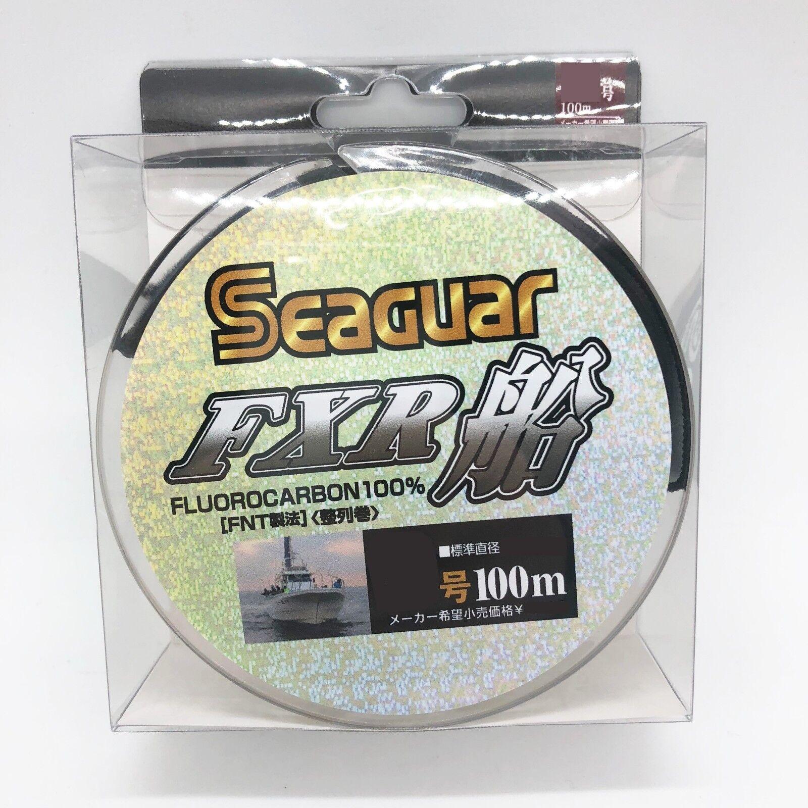 #10 35lb 0.520mm From Japa SEAGUAR FXR FUNE FLUOROCARBON LEADER LINE 100m