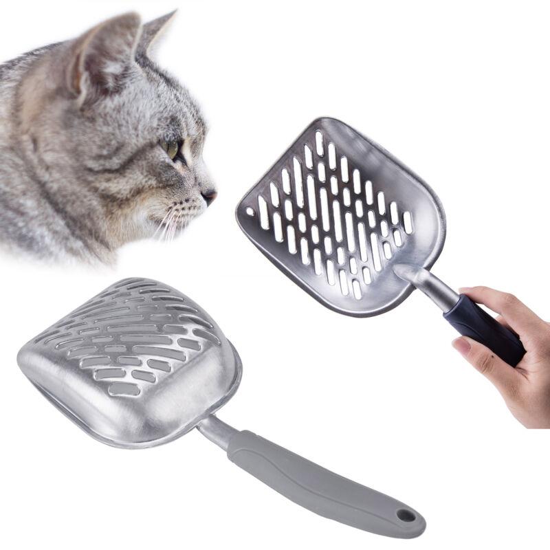 Metal Cat Litter Scoop Kitty Box Pooper Scooper Easy Clean S