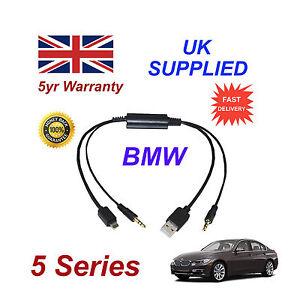 BMW-Serie-5-Audio-Cable-para-Samsung-Galaxy-HTC-BlackBerry-LG-Nokia-Sony