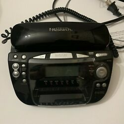Emerson Research CKT9087 Smart Set Dual Alarm Clock Radio Telephone Caller ID