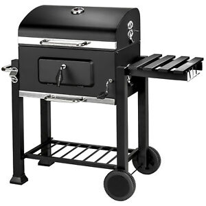 BBQ Charcoal grill barbecue smoker grill garden portable outdoor 115x65x107cm