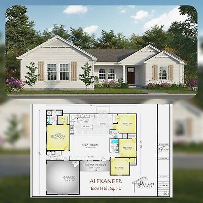 """The Alexander"" House Plan"