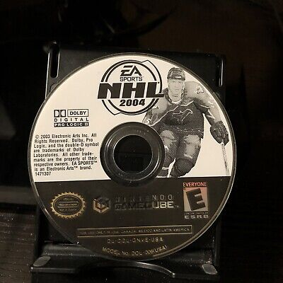 Nintendo GameCube / Wii | NHL 2004 | Game Disc Only