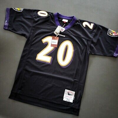 100% Authentic Ed Reed Mitchell & Ness Ravens Legacy Jersey Size 44 L -